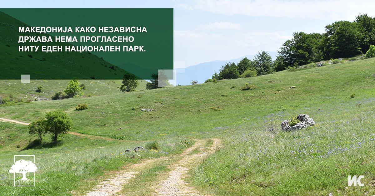 Nacionalnite parkovi vo Makedonija FB